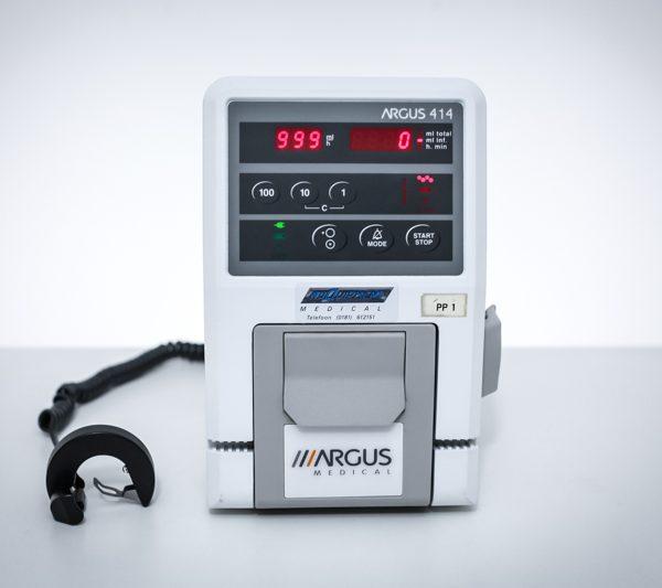 Pompa infuzyjna objętościowa Argus 414 wolumetryczna