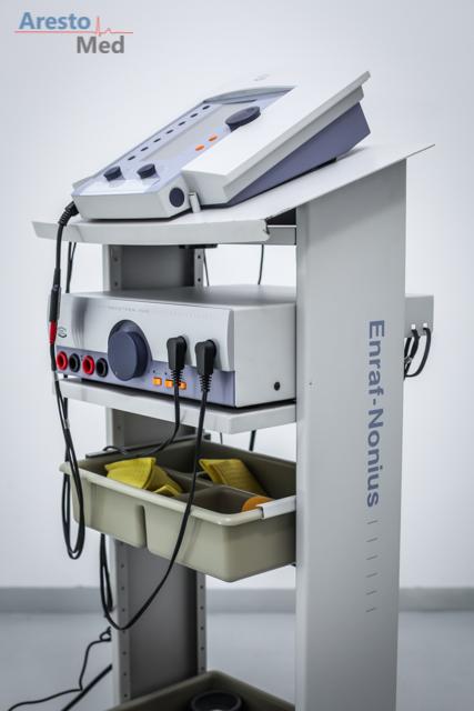 Aparat do elektroterapii i vacum ENRAF NONIUS ENDOMED 482 E + VACOTRON 460 (NA JEDNYM WÓZKU)