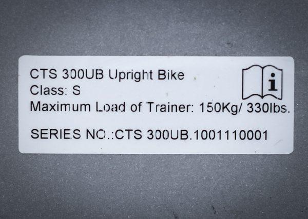 Profesjonalny stacjonarny rower treningowy TuffStuff CTS-300UB