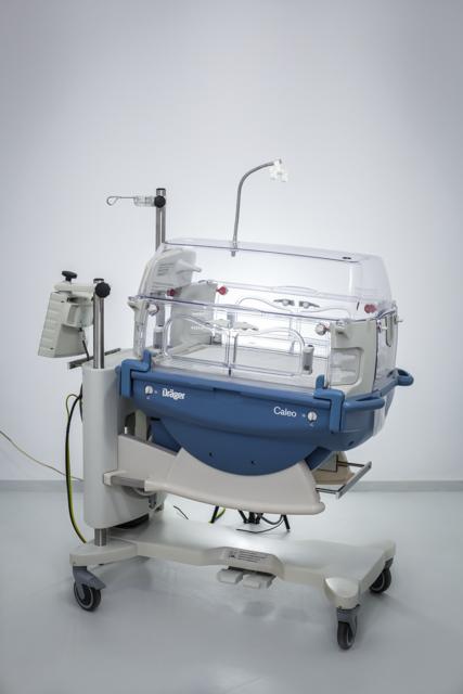 Inkubator zamknięty noworodkowy Drager Caleo