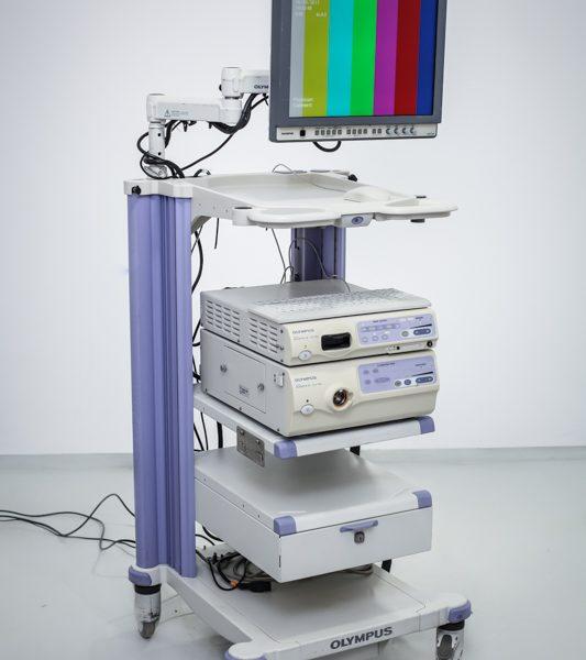 Zestaw endoskopowy OLYMPUS CLV-180 CV-180