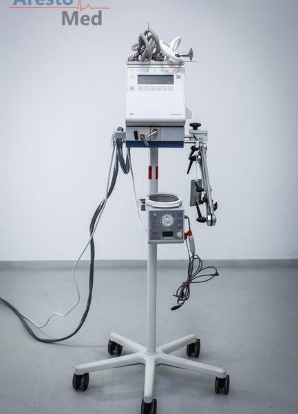 Respirator dziecięcy Drager Babylog 8000+, nawilżacz Fisher&Paykel MR730