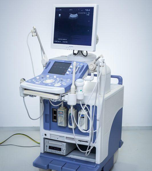 USG ALOKA ProSound Alpha 10 + 3 głowice Ultrasonograf