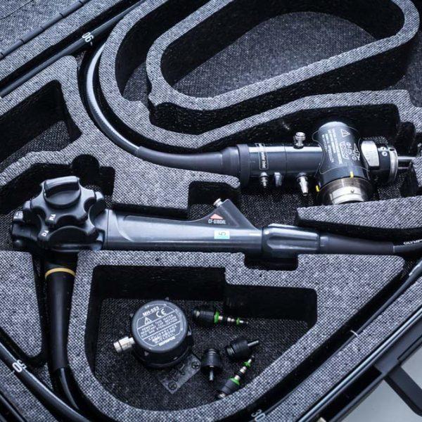 Video Kolonoskop OLYMPUS CF-Q180AL EVIS EXERA II Endoskop giętki