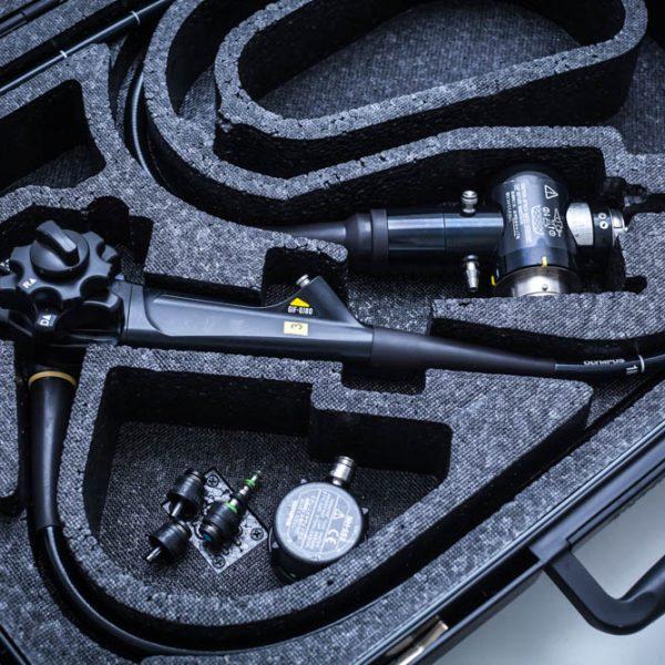 Video Gastroskop OLYMPUS GIF Q180 EVIS EXERA II Endoskop giętki