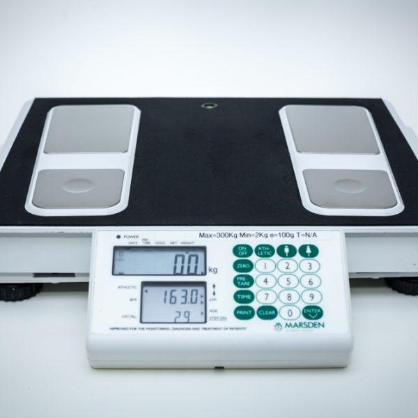 Analizator składu ciała MARDSEN MBF 6000 Waga medyczna