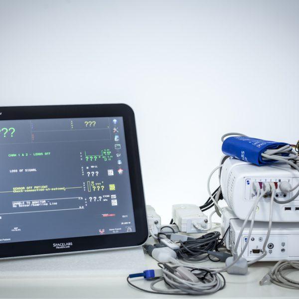 """Kardiomonitor Spacelabs XPREZZON 19"""" CO2 Monitor pacjenta"""