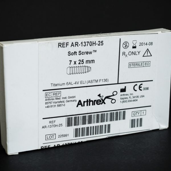 Wkręt Soft Screw 7 x 25 mm tytan Arthrex (26/2) implant