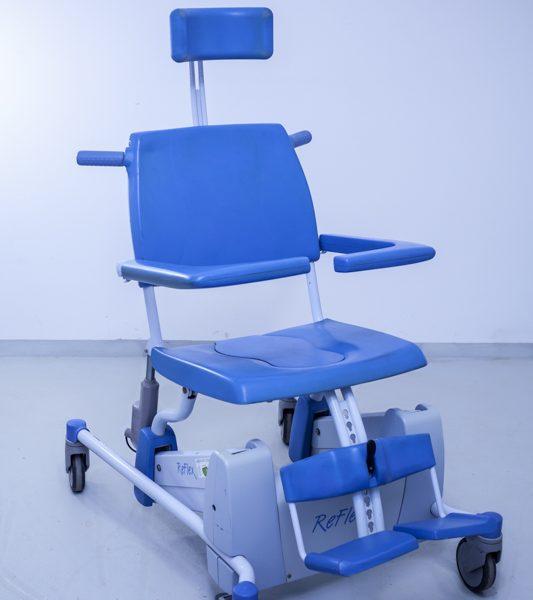 Krzesło toaletowe Lopital Arjohuntleigh Reflex