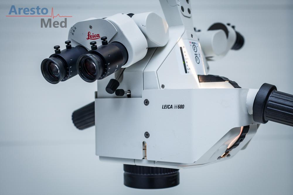 Mikroskop operacyjny LEICA M680 do mikrochirugii i kardiologii