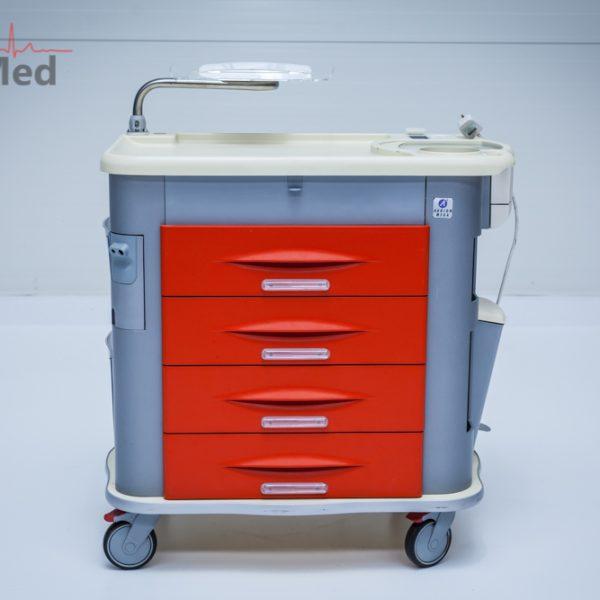 Wózek anestezjologiczny reanimacyjny AURION Mega Trolley