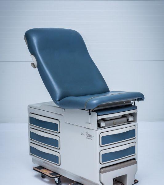 Fotel medyczny ginekologiczny Ritter Midmark 204