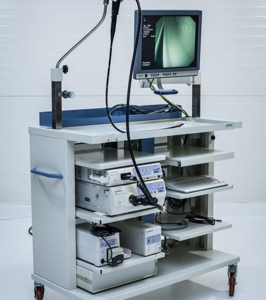 Zestaw endoskopowy Olympus CLV CV 180 pompa insuflator