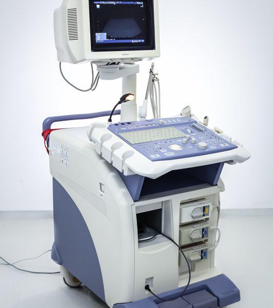 USG Aloka ProSound Alpha 5 + 3 głowice Ultrasonograf
