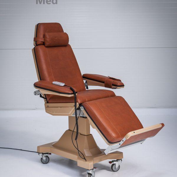 Fotel zabiegowy medyczny Bionic Universal 4 do dializ