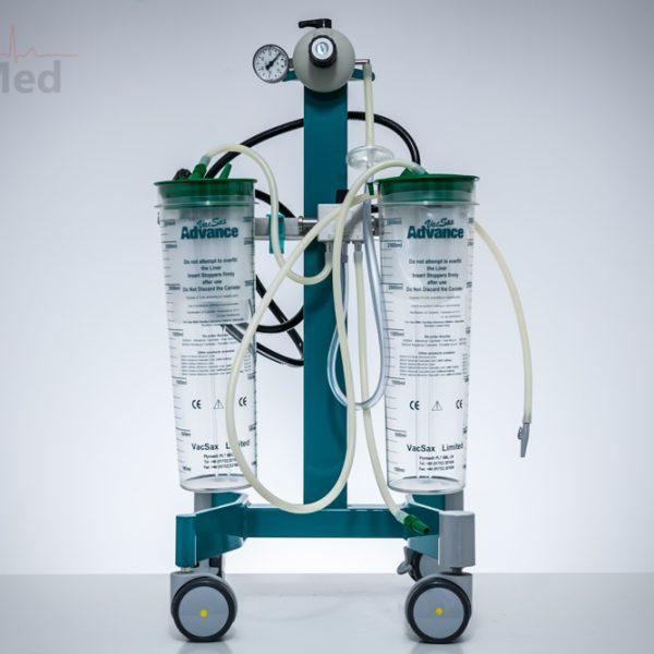 Ssak medyczny próżniowy MEDICOP jezdny 2x3l