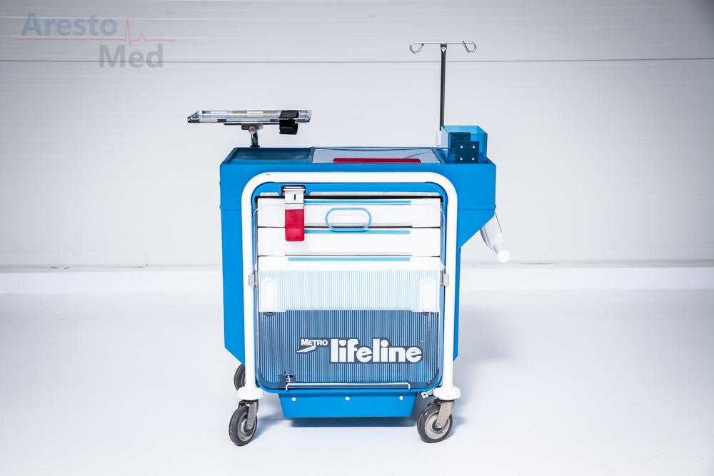 Wózek reanimacyjny Metro LifeLine asystor anestezjologiczny