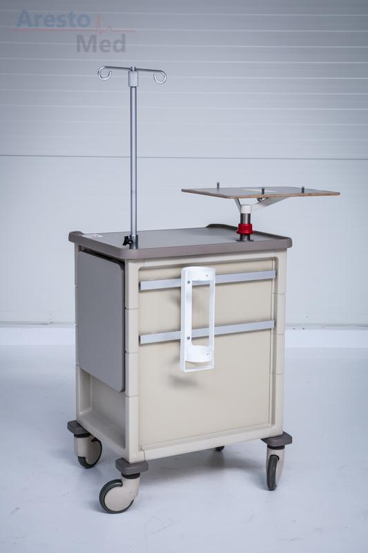 Wózek reanimacyjny Herman Miller for Healthcare CT 142