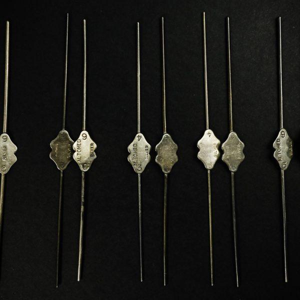 Sonda Bowmana zestaw 2 szt. srebro (24/113)