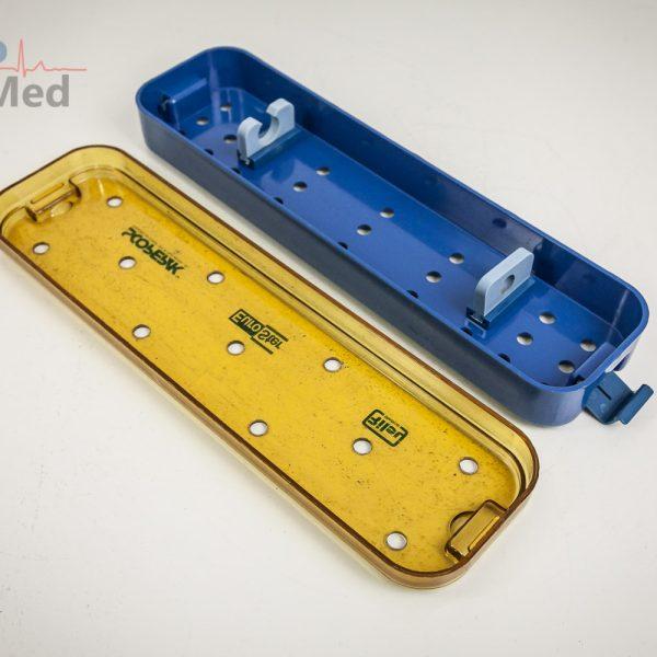 Pojemnik do sterylizacji endoskopów 32x9 cm