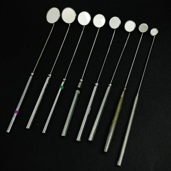 Lusterko laryngologiczne 8 szt. 12-30mm (15/19)