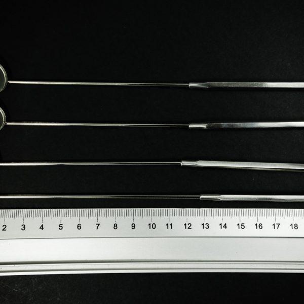 Lusterko laryngologiczne 4 szt. 12-18mm (15/20)