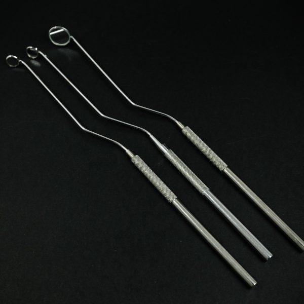 Lusterko laryngologiczne 3 szt. 8-16mm (15/22)