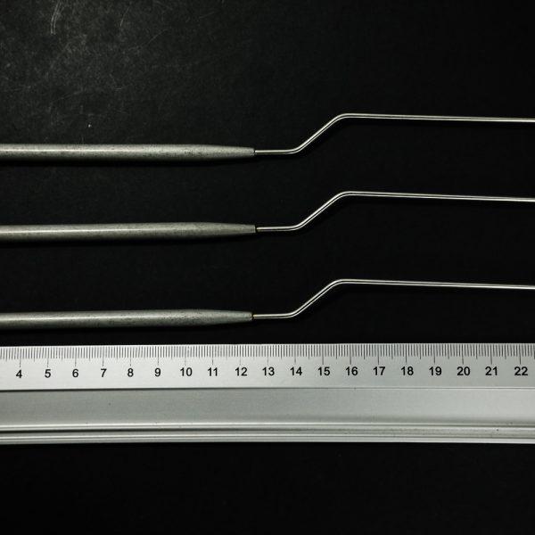 Lusterko laryngologiczne 3 szt. 8-12 mm (15/29)
