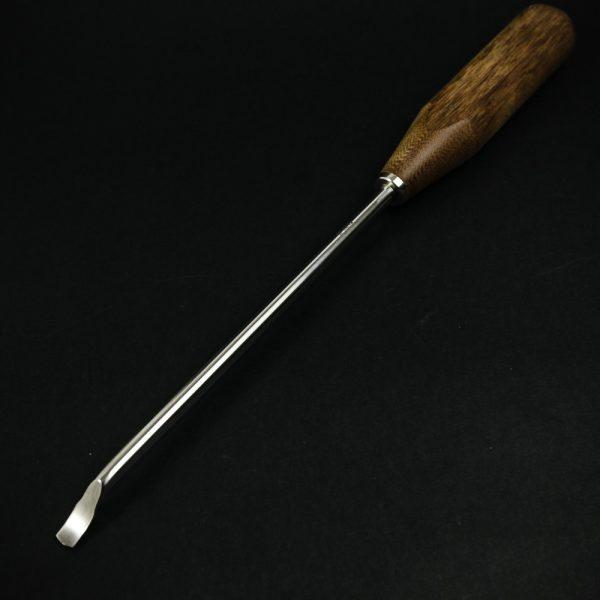 Dłuto kostne podgięte, płaskie 8 mm (1/80)
