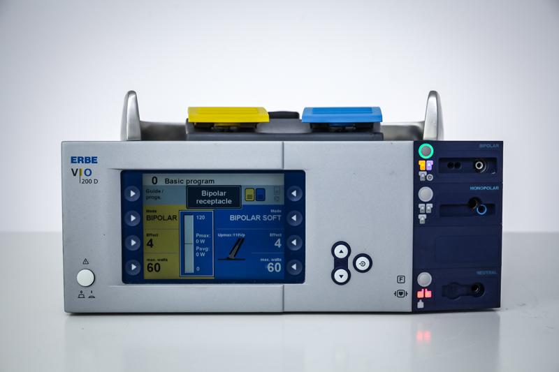 Diatermia chirurgiczna ERBE VIO 200 D z akcesoriami