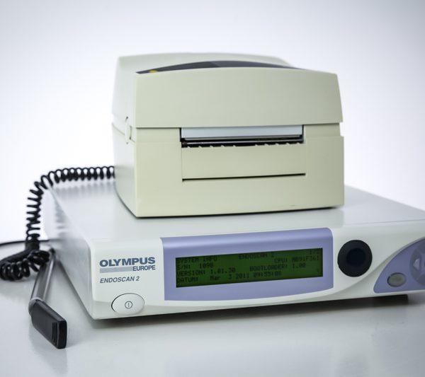 System Olympus Endoscan 2 z drukarką