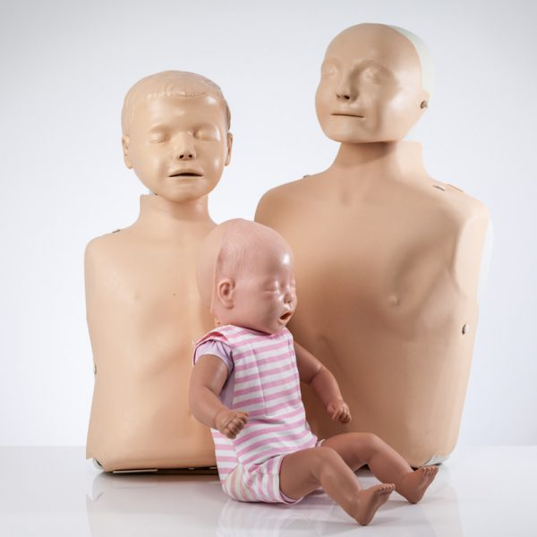 Laerdal Fantom zestaw 3 szt. Baby Junior Little Anne