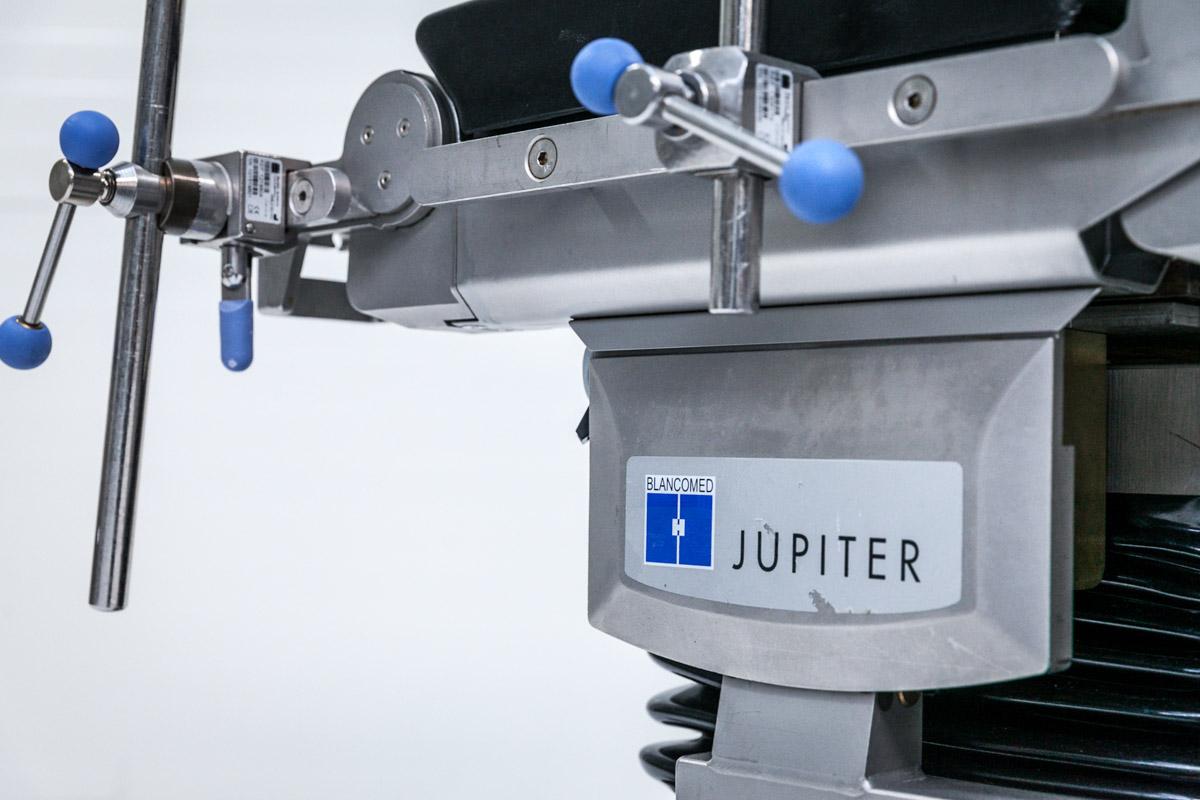 Trumpf Jupiter Stół Operacyjny Blancomed akcesoria