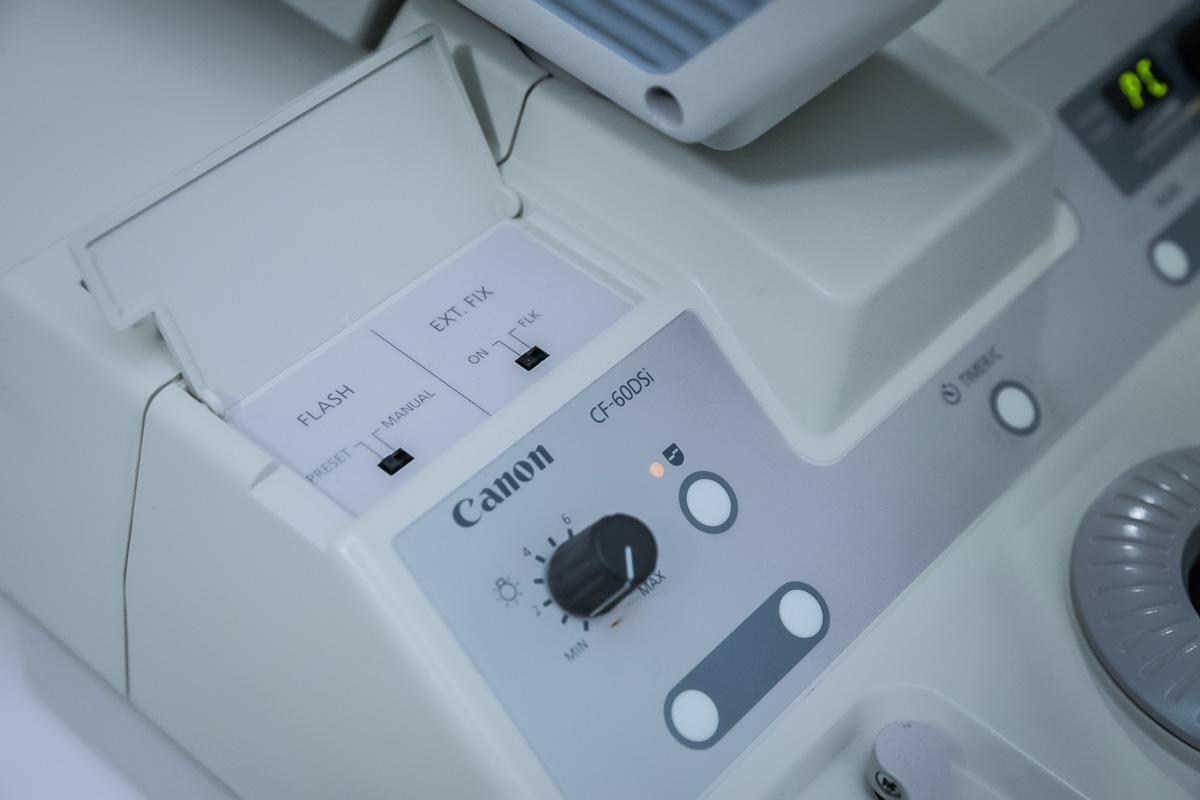 Canon CF-60 DSi Digital Fundus Camera