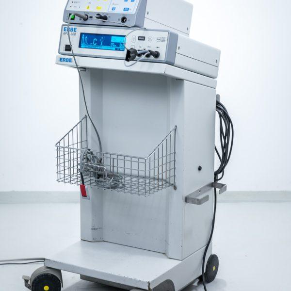 Diatermia ERBE ICC 200 z Przystawką Argonową APC 300