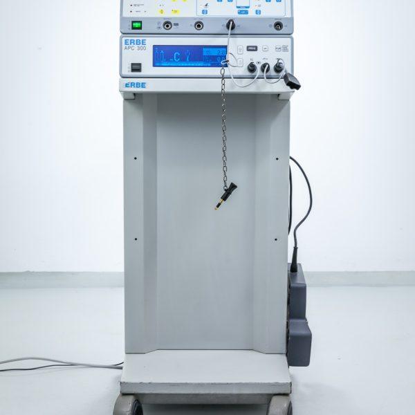 Diatermia ERBE ICC 300 z Przystawką Argonową APC 300