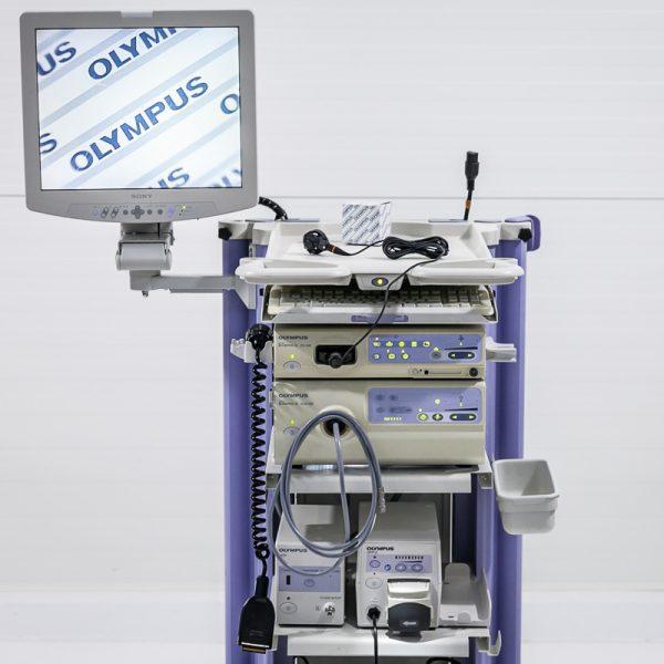 OLYMPUS CLV-180 CV-180 UCN OFP-2 Zestaw Endoskopowy