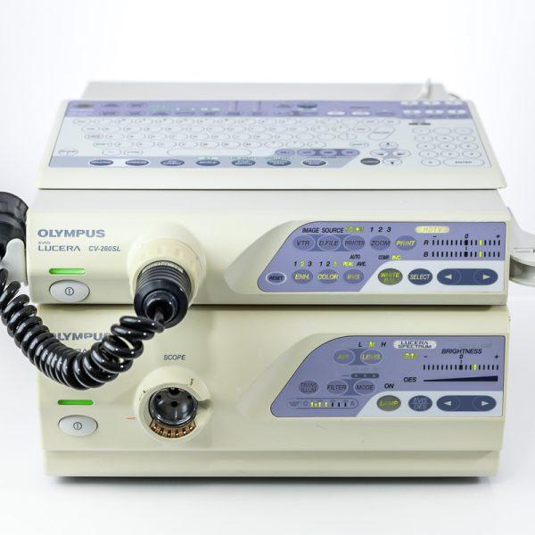 Olympus CV-260SL CLV-260SL Zestaw Endoskopowy
