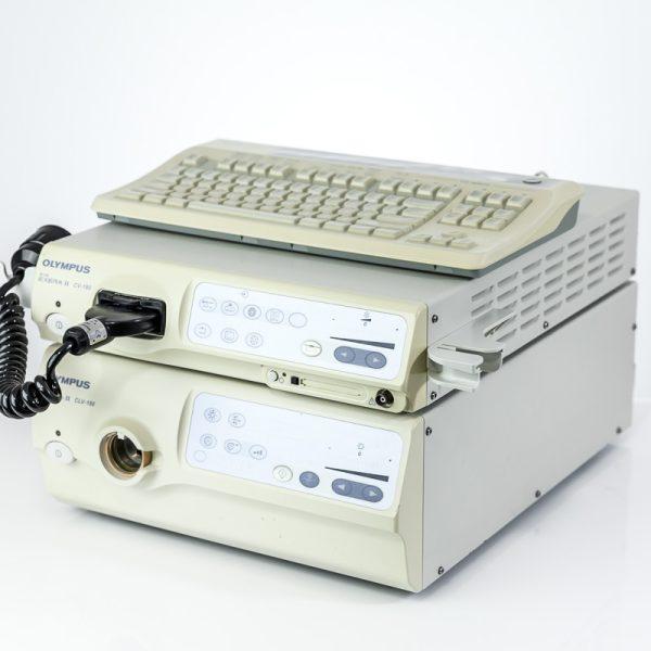 Olympus Evis Exera II CV-180 CLV-180 Zestaw Endoskopowy