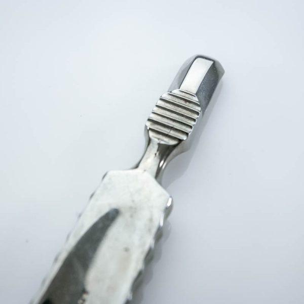 Raspator Farabeuf 12 mm zagięty (5/40) skrobaczka - Arestomed