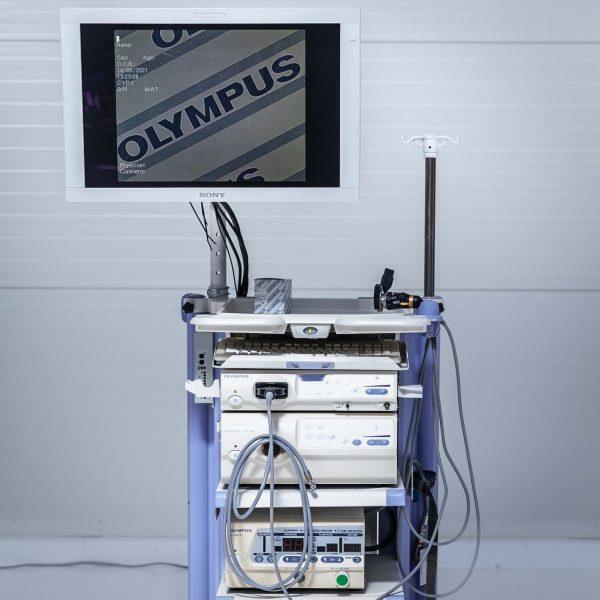 OLYMPUS CV-180 CLV-180 UHI-3 Zestaw endoskopowy