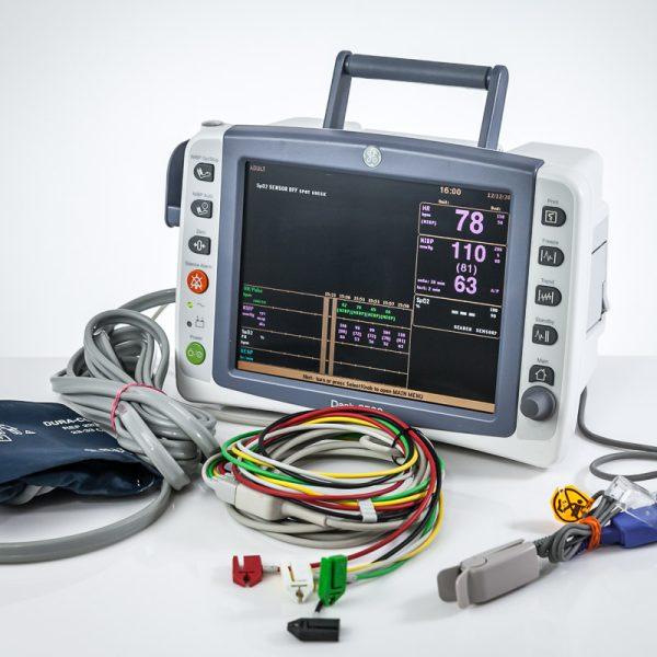 GE Dash 2500 Kardiomonitor Monitor Pacjenta