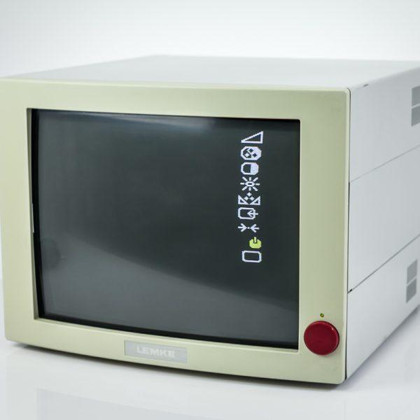 Kineskopowy Monitor Medyczny Lemke M15E/M2