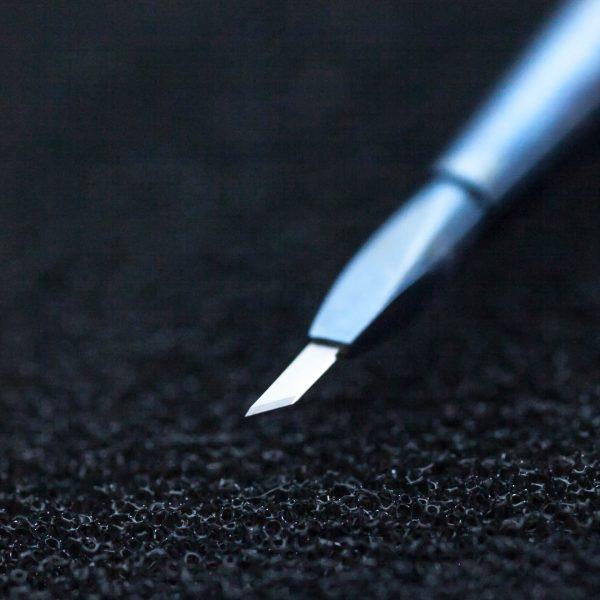 Tytanowy nóż z diamentowym ostrzem 45 stopni (12/58) - Arestomed