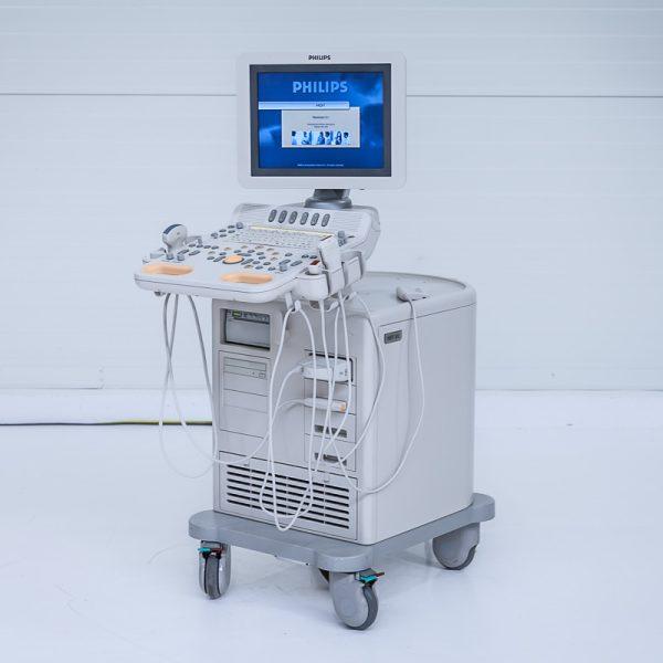 Philips HD7 XE Aparat USG + 3 Głowice Ultrasonograf
