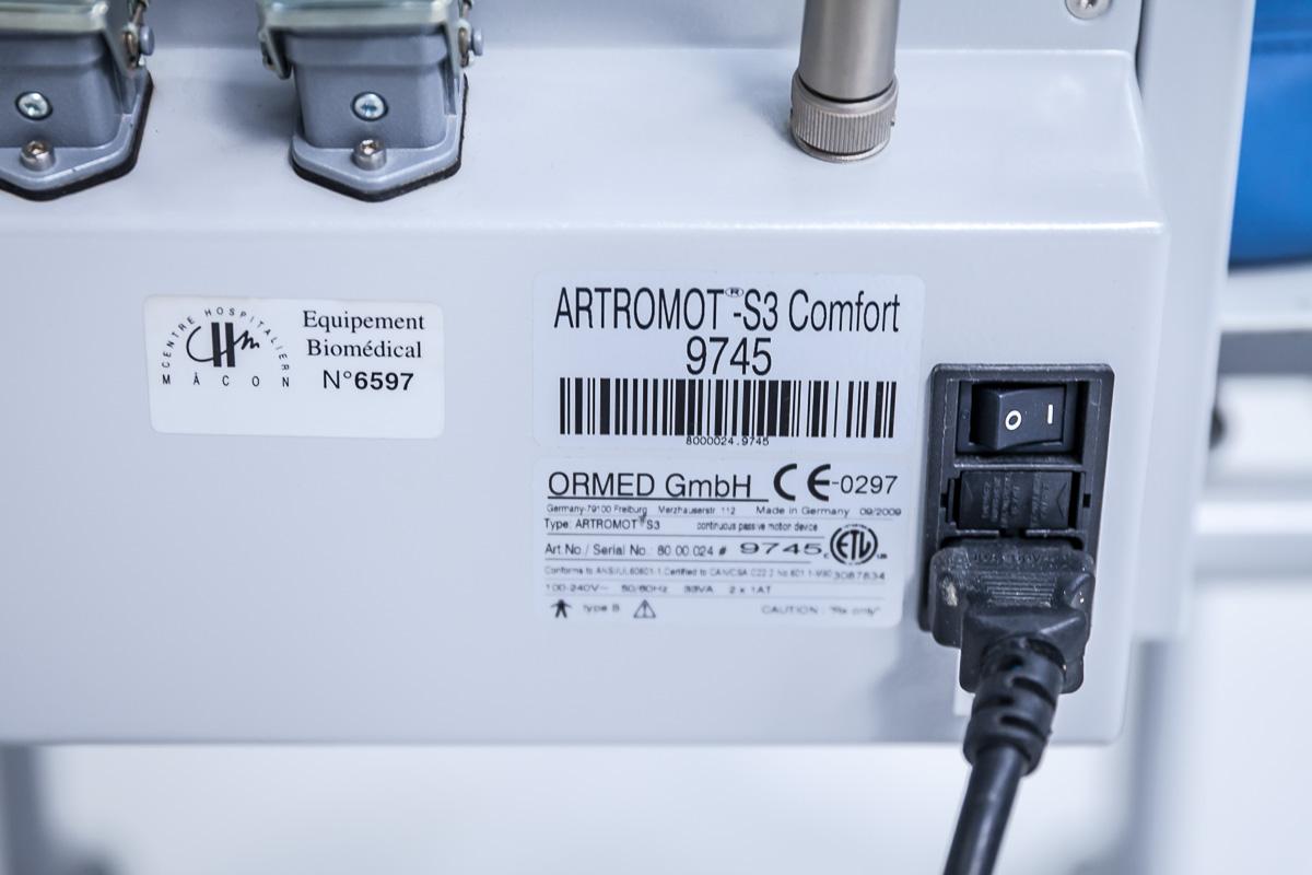 Ormed Artromot S3 Szyna CPM do stawu barkowego