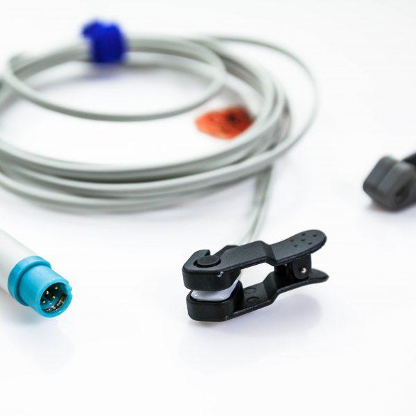 Czujnik saturacji SpO2 Drager Masimo sensor na ucho oraz język Draeger - Arestomed