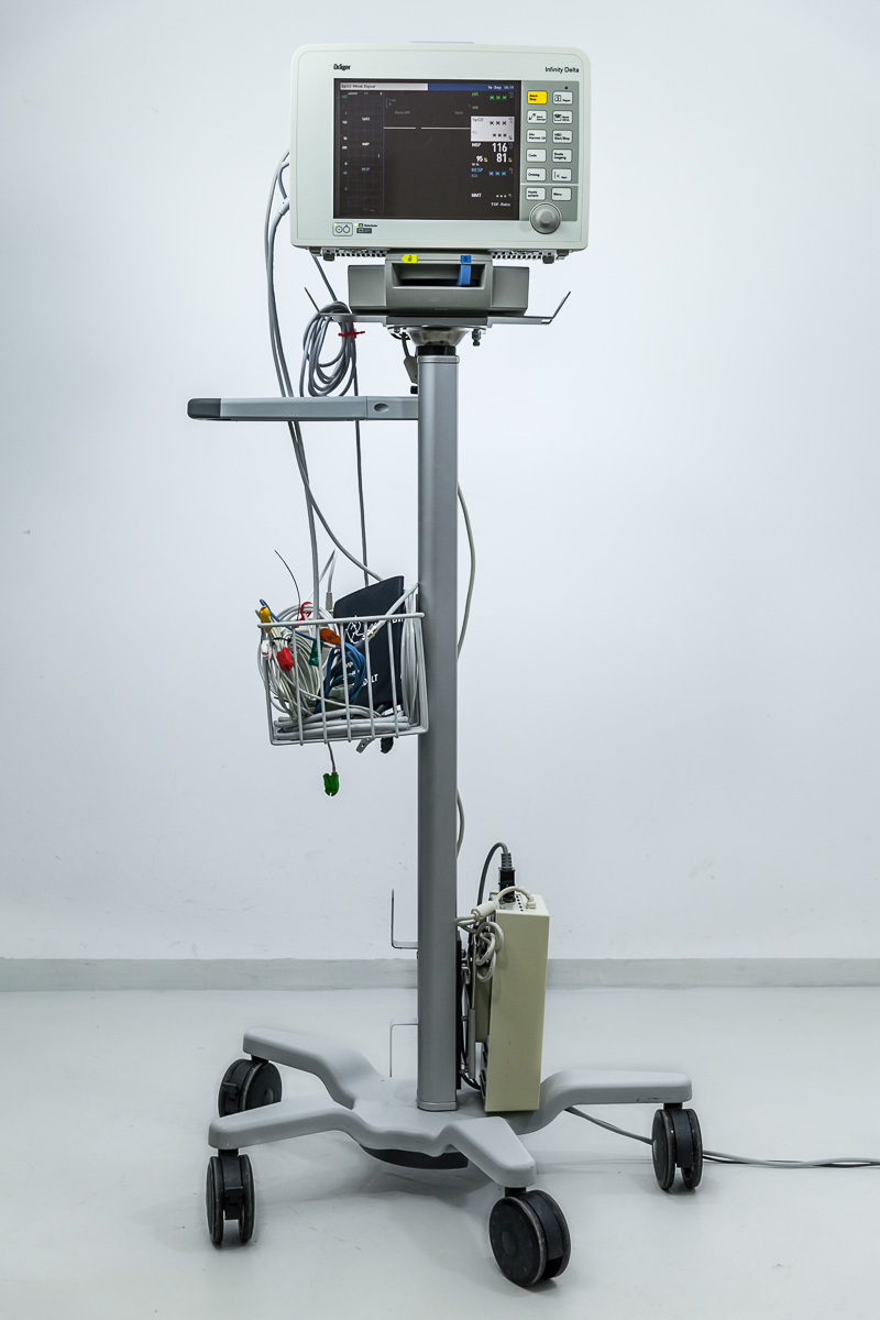 Drager Infinity Delta Kardiomonitor CO2 Draeger