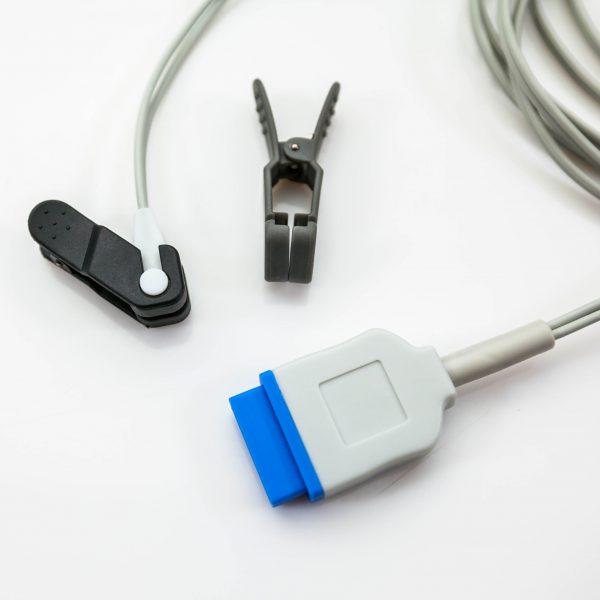 Czujnik saturacji SpO2 GE Oximax sensor na ucho i język - Arestomed