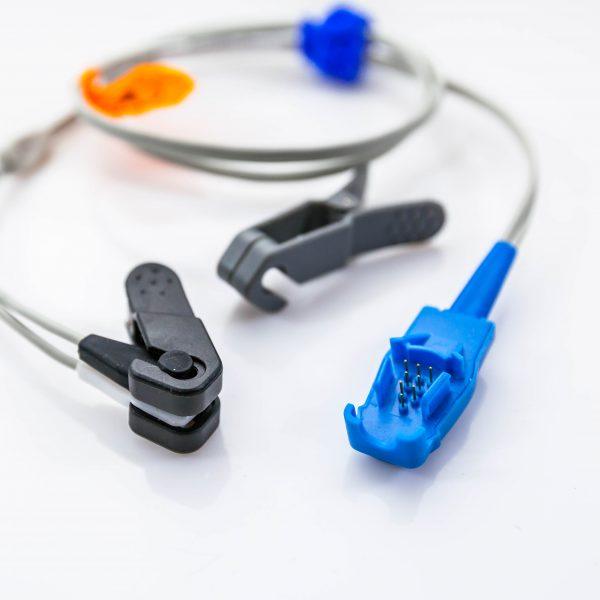 Czujnik saturacji SpO2 GE OxyTip sensor na ucho i język - Arestomed